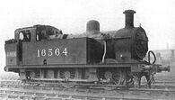 LMS 0-6-0T 3F locomotive, 16564 (CJ Allen, Steel Highway, 1928)