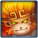 Monkey Warrior Portrait
