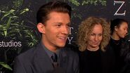 Tom Holland Talks Working With Charlie Hunnam On 'The Lost City Of Z' Access Hollywood