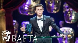 Tom Holland wins EE Rising Star award BAFTA Film Awards 2017