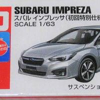初回特別仕様 First Edition TOMICA 78 Subaru Subaru Impreza