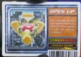 Open Up Card
