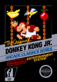 Donkey Kong Jr NES Cover
