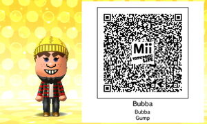 Bubba QR Code