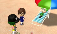 Miis at the beach