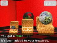 Revealed treasure