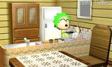 Mii cooking at home