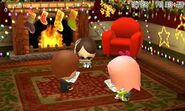 Group of miis on their 3DS LL