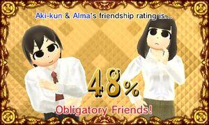Obligitary Friends - Aki Tine and Alma