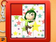 Slide puzzle stars