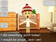 Mii feels like a good person