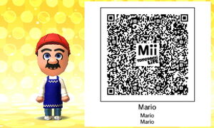Mario QR Code