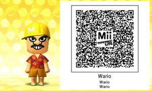 Wario QR Code