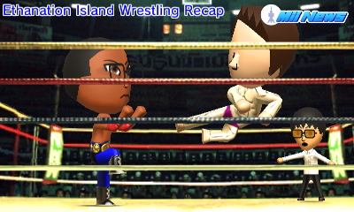 MiiNews Wrestling