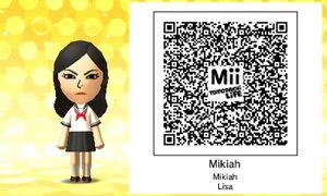 Mikiah QR Code