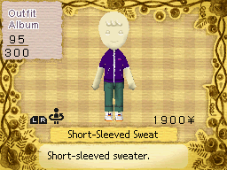 Short Sleeved sweat
