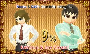 Ketchup and Ice cream - Nouku&Saki