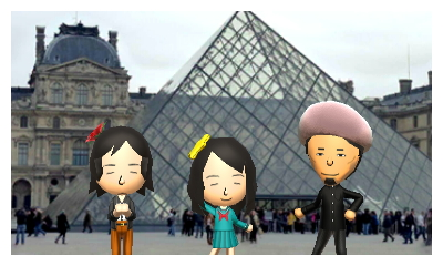 Miis visits France Jp ver