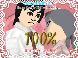 Ultimate Couple Tomodachi Collection