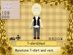 T-Shirt and Vest