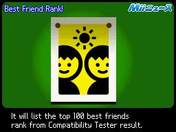 Best Friend Rank Open