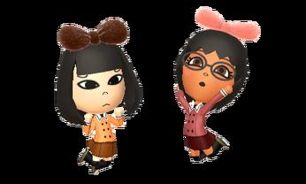 Kia and Emi posing (1)