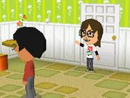 Greeting Angry Mii