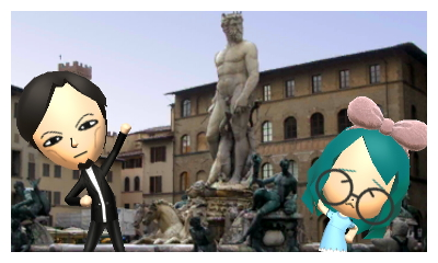 Miis in Italy JP version