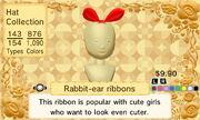 Rabbit-ear ribbons 1