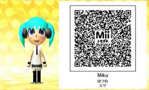 Miku QR Code