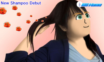 New Shampoo Debut