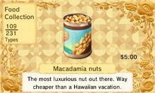 Macadamianuts