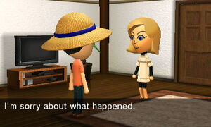 Miis apologizing