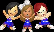 Cheerleaders - Tomodachi Life
