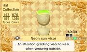 Neon sun visor 4