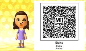 Elaine QR Code