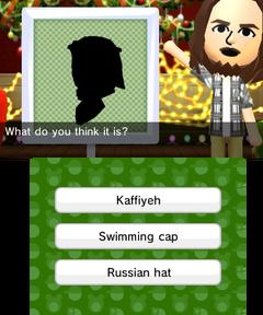 Shadow Hat Presenting