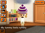 Tummy rumbly Mii