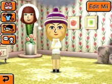 Depressed Mii thinking about the Mii they had a fight with