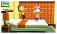 Jumping in the Bed