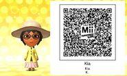 My Mii qr code Kia