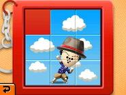 Slide puzzle sky