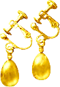 Gold Earrings TL