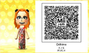 Orihime QR Code
