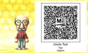 Uncle Ted QR Code