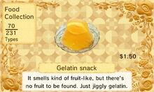 Gelatin snack