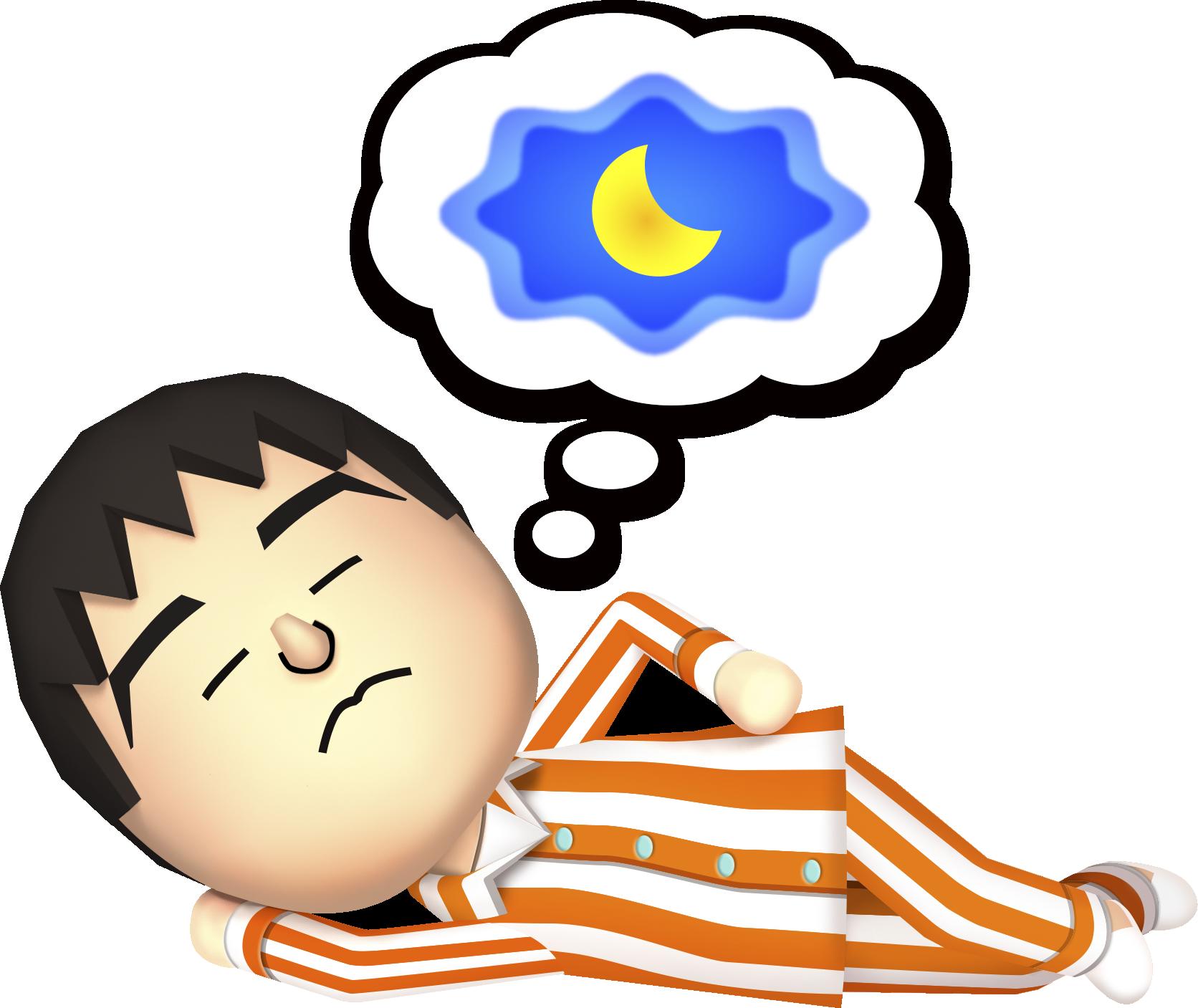 Dreaming Mii