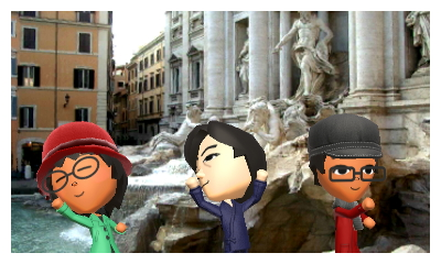 Miis in Italy Japan only