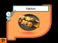 Yakitori in stomach