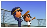 Mii with bats at the rooftop JPv